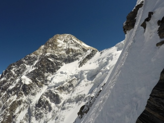 The North Face of Khan Tengri, 7010m