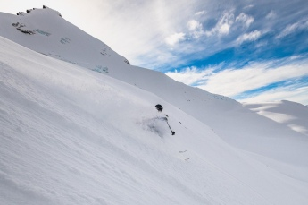 Patagonia powder! - photo by Matthew Tufts (matthew-tufts.com)