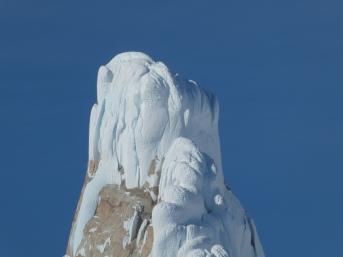 Cerro Torre's infamous summit mushroom
