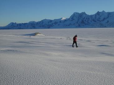 Emptiness of the ice cap