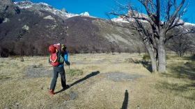 Leaving Peidra del Fraile