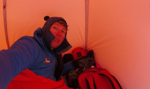 In the Bivy bag